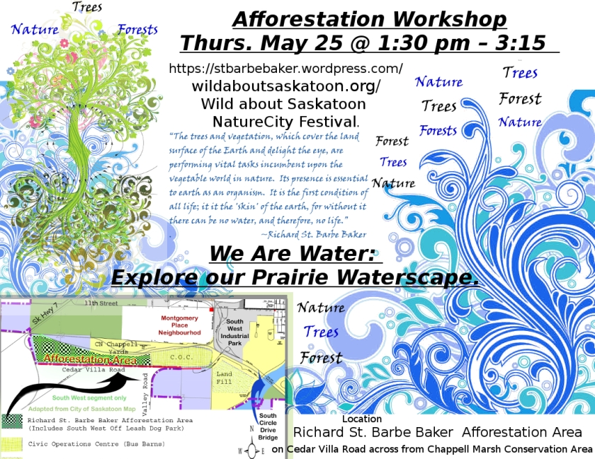 Afforestation Workshop May 25, 2017 at 1:30